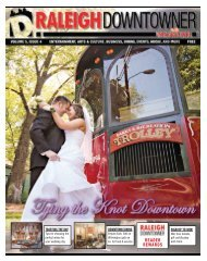 Volume 5, Issue 4 - Raleigh Downtowner