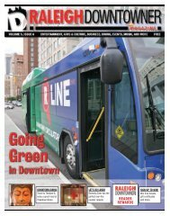 Issue 6 layout.indd - Raleigh Downtowner