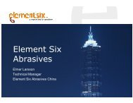 Element Six Abrasives