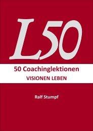50 Coachinglektionen - Ralf Stumpf Seminare
