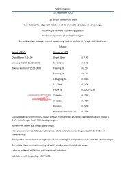 Slutinstruktion til DM 6 på Løvelbanen 15.+16 ... - Rallycross info