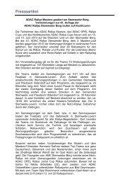 Presseartikel 20.05.2013 - ADAC Rallye Stemweder Berg