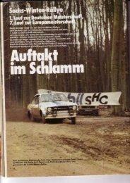 Rallye Racing, April 1978 - Rallye Frieg