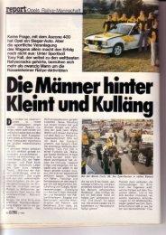 o ls Ralle-Mannschaft - Rallye Frieg