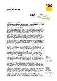 Presse-Information - Rallye Frieg