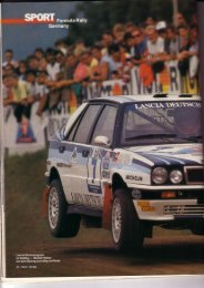 Rallye Racing, September 1989 - Rallye Frieg
