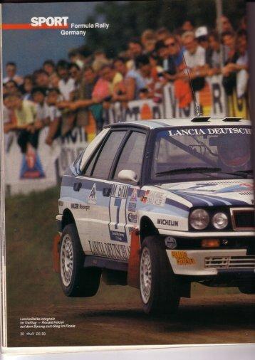 Rallye Racing, September 1989 - Rallye Frieg