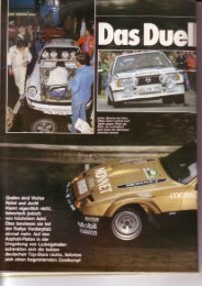 Rallye Racing, Oktober 1981 - Rallye Frieg
