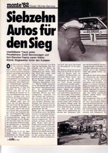 Monte-Service - Rallye Frieg