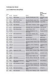 Vorläufige Liste Starter zur 28. ADAC Reckenberg ... - Rallye200-info