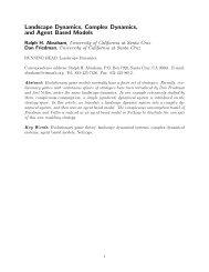 Landscape Dynamics, Complex Dynamics, and ... - Ralph Abraham