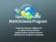 Upward Bound Math/Science Program