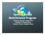 Upward Bound Powerpoint Presentation