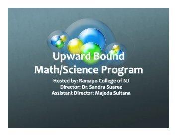 Upward Bound Powerpoint Presentation