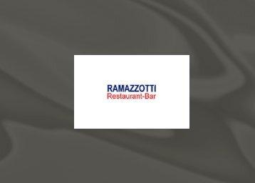 Dessertkarte - RAMAZZOTTI