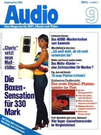 Audio 9-1982 Test AS3001 Four Tops - ASC 6000