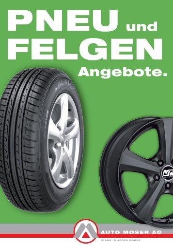 Angebote. - Auto Moser AG