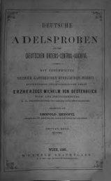 Deutsche Adelsproben aus dem Deutschen Ordens ... - Rambow.de