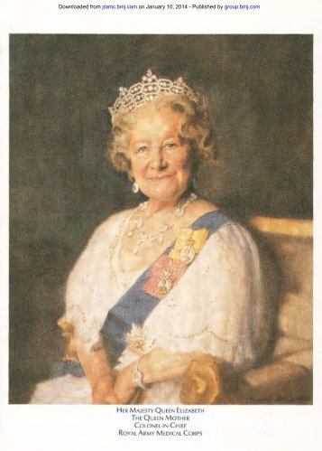 HM Queen Mother - Journal of the Royal Army Medical Corps