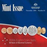 Mint Issue - November 2005 - Issue No. 64 - Royal Australian Mint