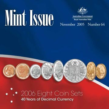 Mint Issue - November 2005 - Issue No. 64 - Royal Australian Mint