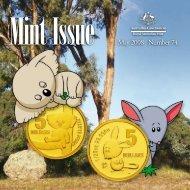 May 2008 Number 74 - Royal Australian Mint