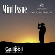 Mint Issue - January 2005 - Issue No. 60 - Royal Australian Mint