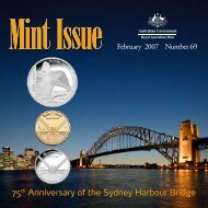 Mint Issue - February 2007 - Issue No. 69 - Royal Australian Mint