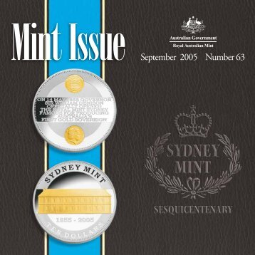 Mint Issue - September 2005 - Issue No. 63 - Royal Australian Mint