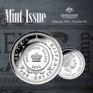 February 2013 Number 96 - Royal Australian Mint