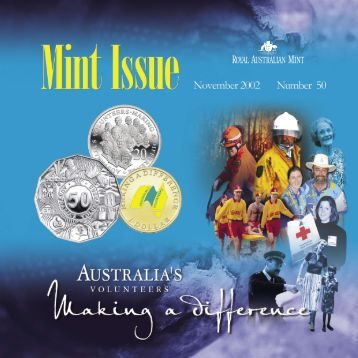 Mint Issue - November 2002 - Issue No. 50 - Royal Australian Mint