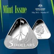 May 2013 Number 97 - Royal Australian Mint