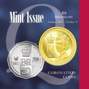 Mint Issue - February 2003 - Issue No. 51 - Royal Australian Mint