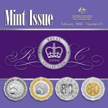 Mint Issue - February 2006 - Issue No. 65 - Royal Australian Mint