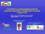 The effect of bioaugmentation on selected microbial ... - Ramiran