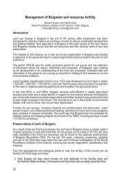 Management of Bulgarian soil resources fertility - Ramiran