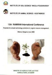 13th RAMIRAN International Conference