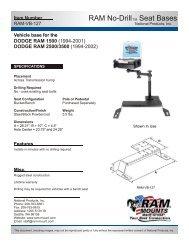 RAM-VB-127-SW1 - RAM Mounts