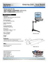 RAM-VB-142 Installation Instructions - RAM Mounts