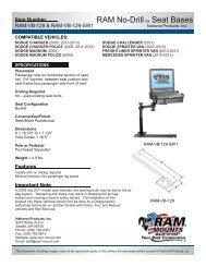 RAM-VB-129-SW1 - RAM Mounts