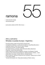 ramona 055 - oktubre de 2005 - Arte y activismo