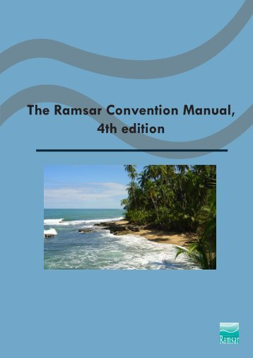 The Ramsar Convention Manual, 4th edition