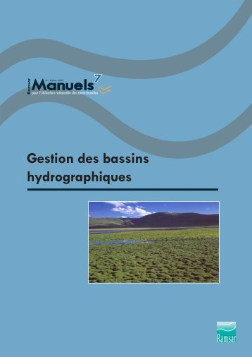 Manuels - Ramsar Convention on Wetlands