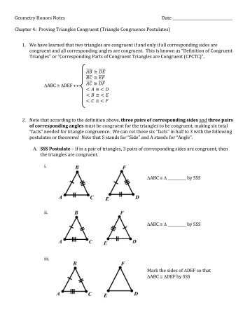 44 Proving Triangles Are Congruent Asa Aas