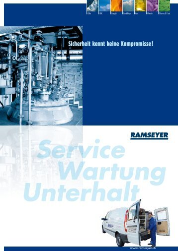 Service, Wartung und Unterhalt - André Ramseyer AG