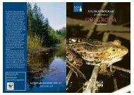 Åtgärdsprogram för bevarande av gölgroda - Regional Red List