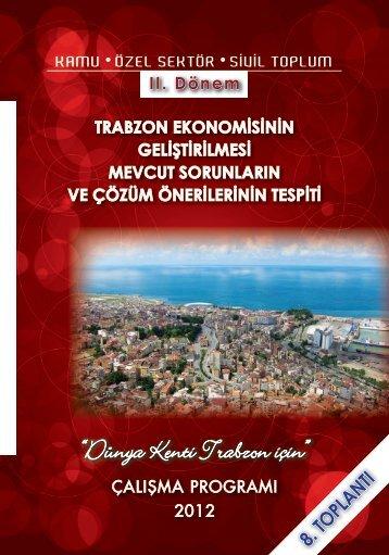 """Dünya Kenti Trabzon için"""