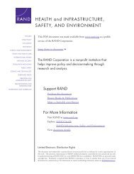 National Evaluation of Safe Start Promising Approaches - RAND ...