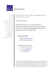 State and Local Implementation of the No Child Left Behind Act ...