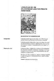 lokalplanens bestemmelser - Randers Kommune
